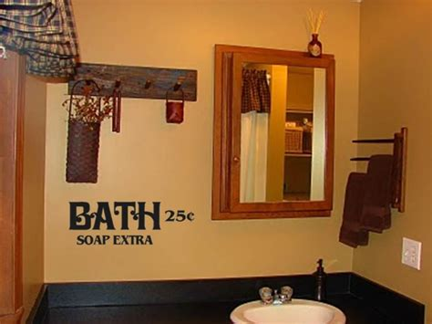 primitive bathroom accessories interior design gallery primitive bathroom decor