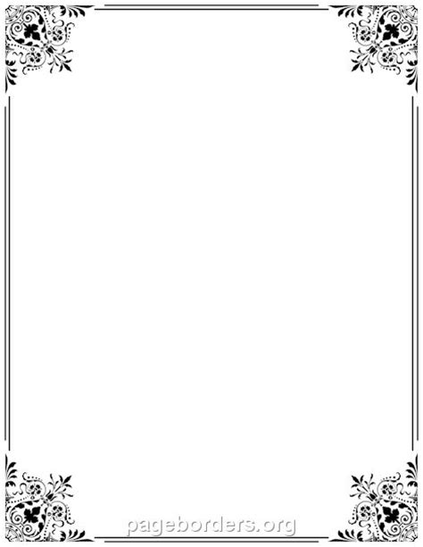 frame design for microsoft word 16 best images about borders frames on pinterest
