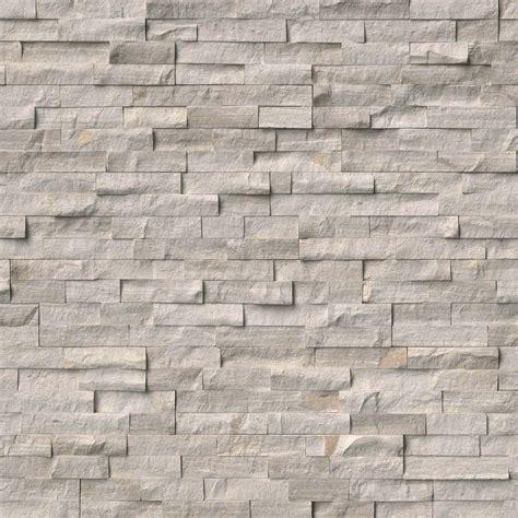 MSI White Oak Splitface Panel Split Face   6x24