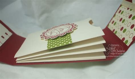 Multiple Gift Card Holder - photo tutorial multiple pocket gift card holder song of my heart sters