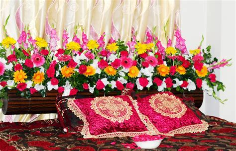 Flower Bed Decoration | bengali wedding guide wedding flower bed decoration ideas