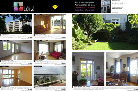 Cabinet Lutz Angers by Cabinet Lutz Services En Immobilier 187 Vente