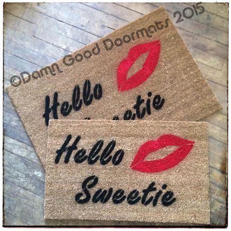 Dr Who Doormat by Dr Who River S Song Quot Hello Sweetie Quot Doormat