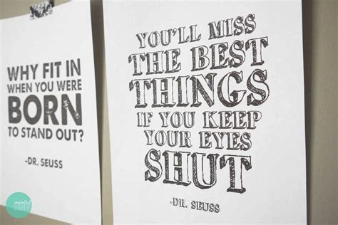 printable quotes posters dr seuss quotes posters quotesgram