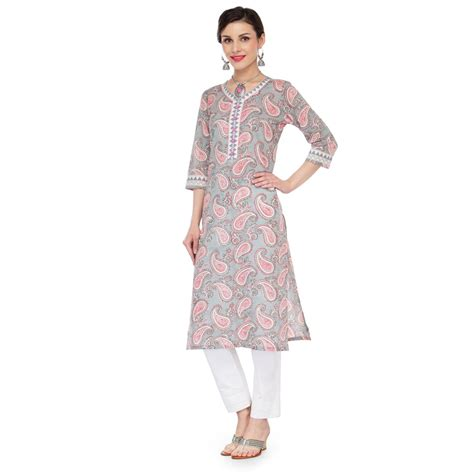Pattern Making Of Ladies Kurti | paisley pattern ladies kurta jp1120