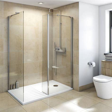 v8 walk in shower enclosure pack 1400 x 900