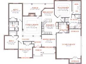 Print Plans house 7728 blueprint details floor plans