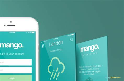 web design mockup app mockup app screen e web