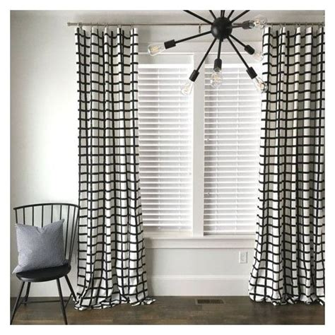 black and white drapes contemporary best 25 modern window treatments ideas on pinterest
