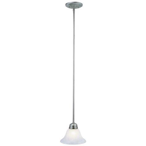 design house millbridge lighting design house millbridge 1 light satin nickel mini pendant