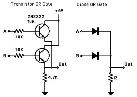 transistor or gate circuit cs 257 lesson 2