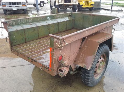 military jeep trailer m416 jeep trailer unknown no tailgate