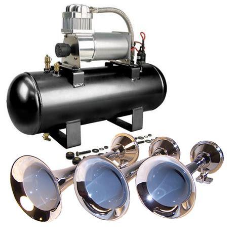 horn kit 3 air horns viair 150 psi air system