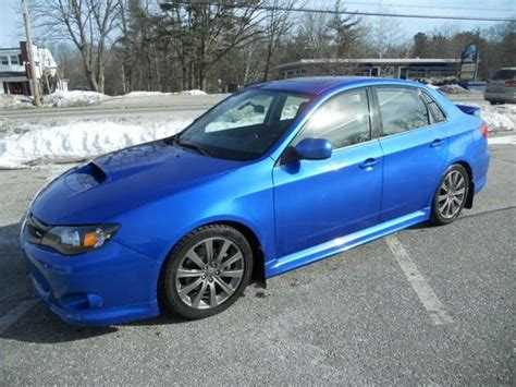 2010 subaru impreza wrx premium purchase used subaru impreza wrx premium 2010 10 blue low