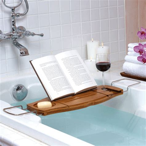 bathtub accessories caddy relax while bathing with aquala bathtub caddy modern
