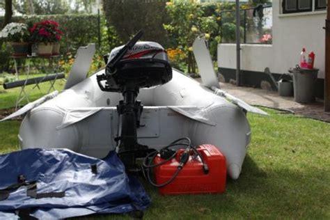 rubberboot met 4 pk motor quicksilver met buitenboordmotor advertentie 436410
