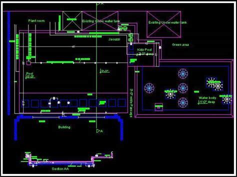 Download Free Kitchen Design Software swimming pool layout plan and section plan n design