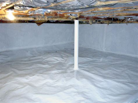 crawl space vapor barrier in fayetteville lumberton