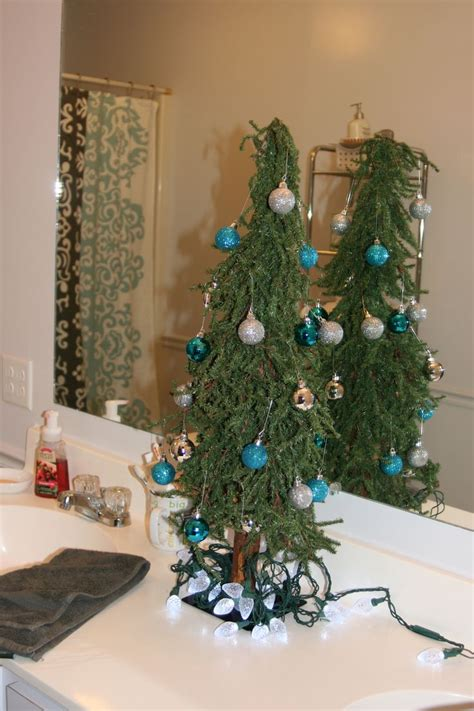 bathroom christmas tree christmas ideas pinterest