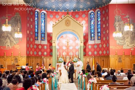 holy comforter dc highlights leslie brent s wedding at holy comforter
