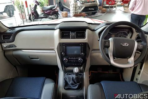 mahindra thar 2017 interior new mahindra scorpio images and video the most