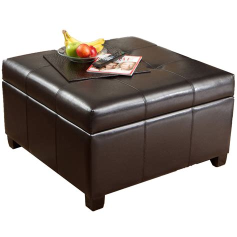Ottoman With Storage Round Ottoman With Storage Home Decorator Shop