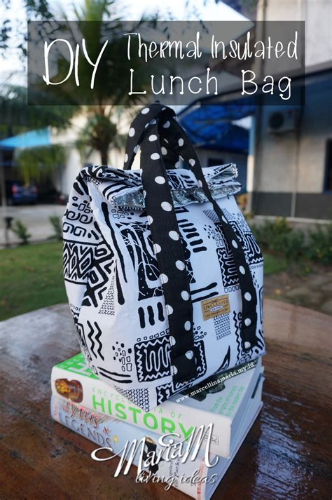 diy thermal diy thermal insulated lunch bag for back to school