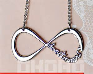 One Direction Infinity Necklace One Direction Infinity Necklace Infinity From Ohoho On Etsy