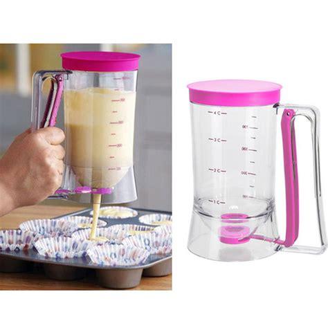 cupcake batter dispenser new sherwood home plastic pancake batter dispenser baking