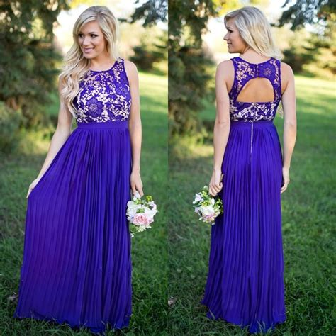 aliexpress buy 2017 new summer country style bridesmaid dresses purple a line