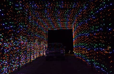 walk through christmas lights holiday lights drive through magic of lights at castrol