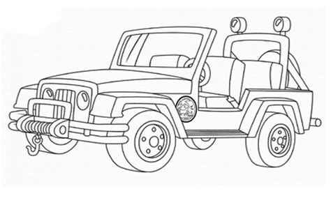jeep coloring pages jeeps free coloring pages