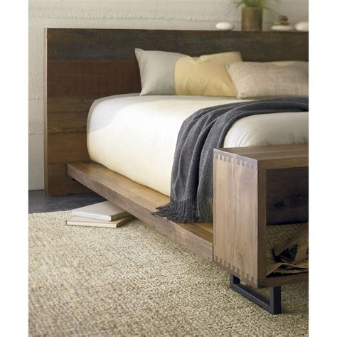 crate and barrel headboards atwood bed with bookcase bookcases beds and crate and