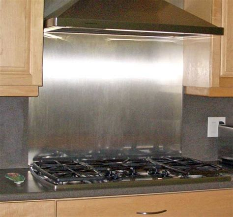 how to cut stainless steel backsplash polished stainless backsplash 36 quot x 30 quot with hemmed edges