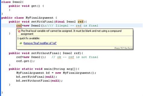 java tutorial final keyword final keyword in java