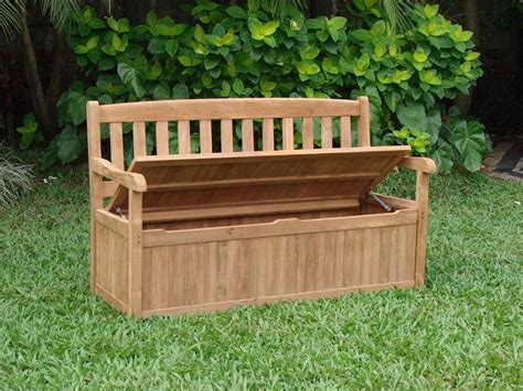 garden storage benches how to build a garden storage bench ebay