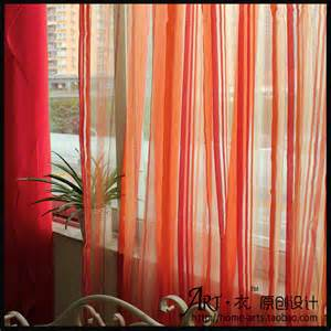 Orange Green Curtains Shop Popular Green Purple Curtains From China Aliexpress