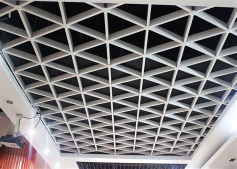 Metal Suspended Ceiling Unique Lattice Suspended Metal Ceiling Grid For Office