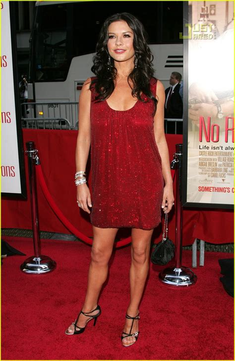 Catherine Zeta Jones In A Emanuel Ungaro Mini Dress At The No Reservations Premiere by Sized Photo Of Catherine Zeta Jones Ungaro Dress 09