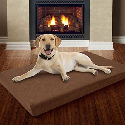 dog bed with removable cover large memory foam dog bed with removable cover 46 quot x 27 quot k9 crates