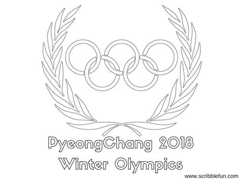 Olympic Coloring Pages by Free Printable Winter Olympics Coloring Pages