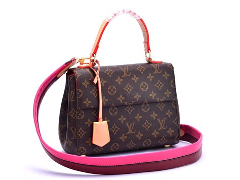 Jual Tas Lv Louis Vuitton Clunny Epi Leather Mirror Quality batam branded tas louis vuitton cluny bb monogram pink maroon semprem