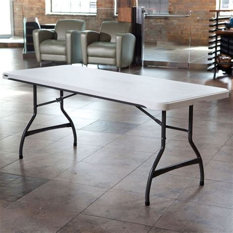 Lifetime 6 Foot Folding Table Lifetime Products 6 Ft White Folding Table
