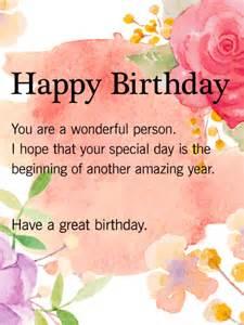 a great birthday birthday wish card birthday birthdays happy birthday