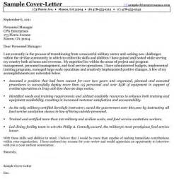 Sle Cover Letter For Federal by Letter Of Recommendation Resume Exles Infantry To Civilian To