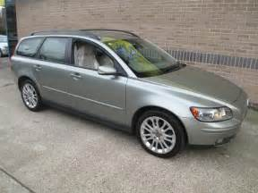 Volvo V50 Estate For Sale Used Volvo V50 2006 Petrol 1 8 Se 5dr Estate Green