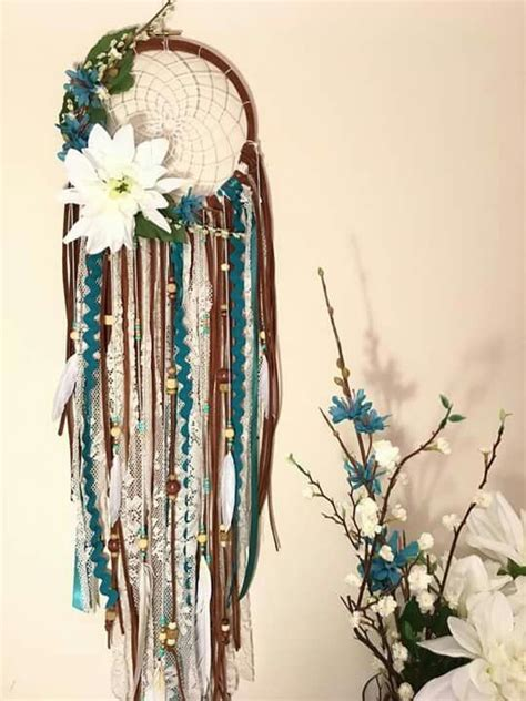 bohemian suncatcher artsy mix of eclectic custom by 1240 best dreamcatcher images on pinterest bamboo doily