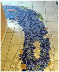 decorative ceramic tile hand made pond tiles for custom