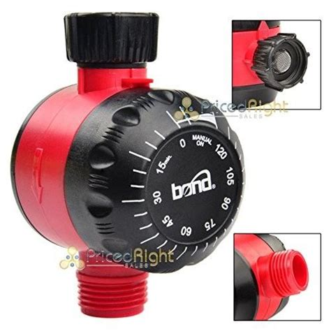 bond mechanical water timer water timer water garden