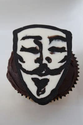 clutzy geek food v for vendetta cupcakes clutzy cooking cupcakes a z v is for